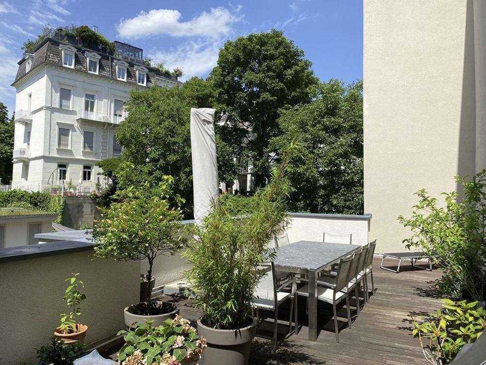 Citymaisonette mit großer Dachterrasse